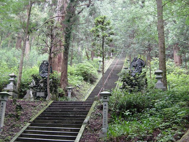 写真:最乗寺階段